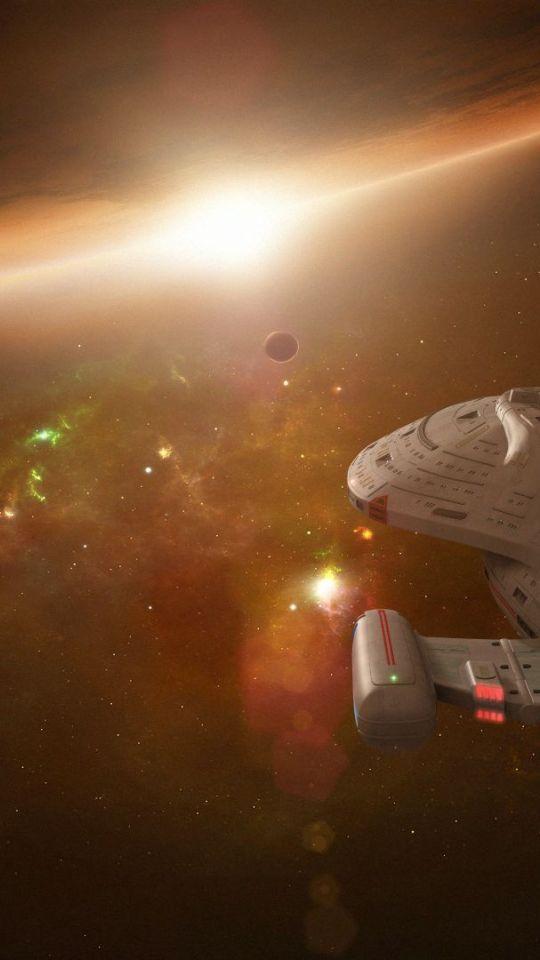 Star Trek Voyager Mobile Phone Wallpaper Id 49340